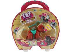 Pet Parade poník 1pack cihlově hnědá