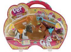 Pet Parade poník 2pack strakatý poník