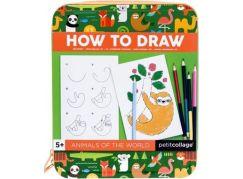 Petitcollage Jak nakreslit zvířátka