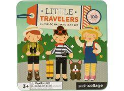 Petitcollage Magnetická knížka Cestování