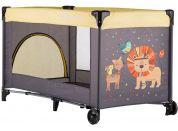 Petite&Mars Postýlka cestovní Koot Lion Yellow