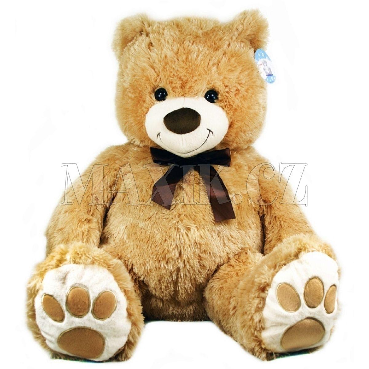 17e7343f6 Petra Toys Plyšový medvěd Sorriso 80 cm   Maxíkovy hračky