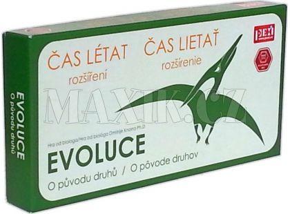 Pexi Evoluce rozšíření Čas létat