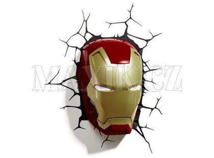 Philips Avengers 3D světlo na zeď - Iron Man