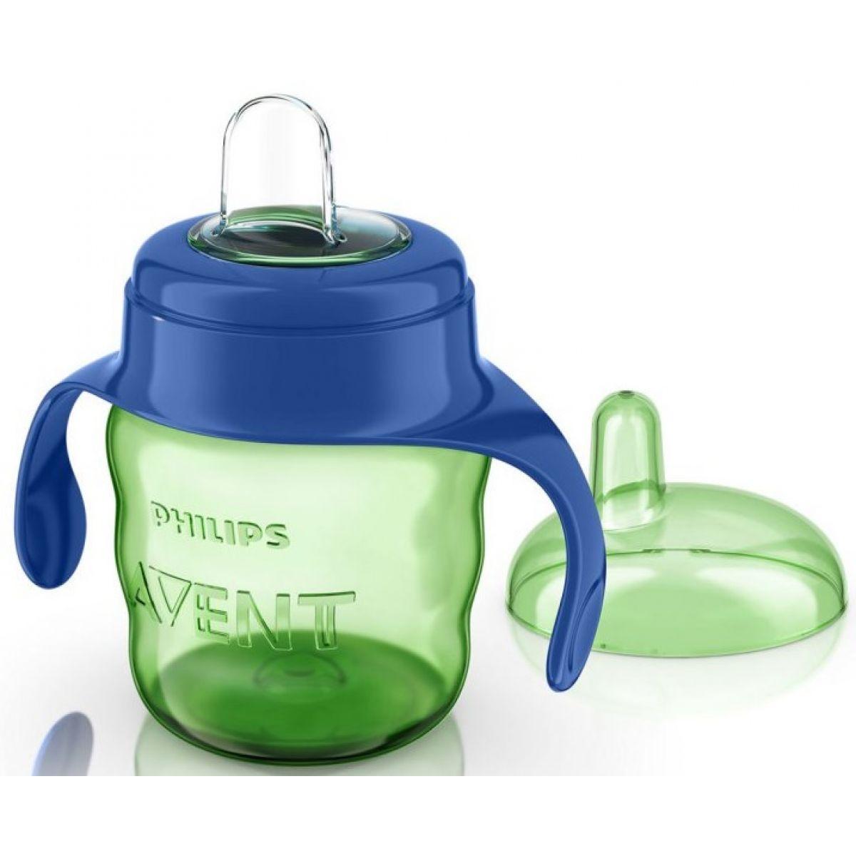 Philips Avent Hrneček pro první doušky Classic 200ml - Modro-zelená