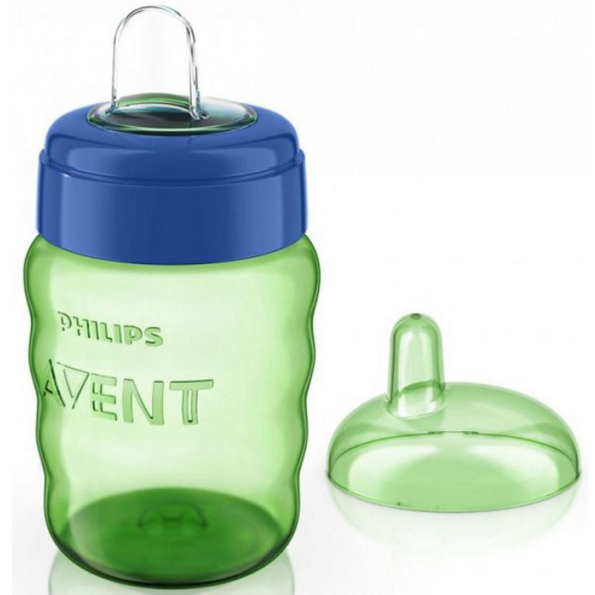 Philips Avent Hrneček pro první doušky Classic 260ml - Modro-zelená