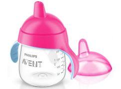 Philips Avent Hrneček pro první doušky Premium 260ml - Růžová