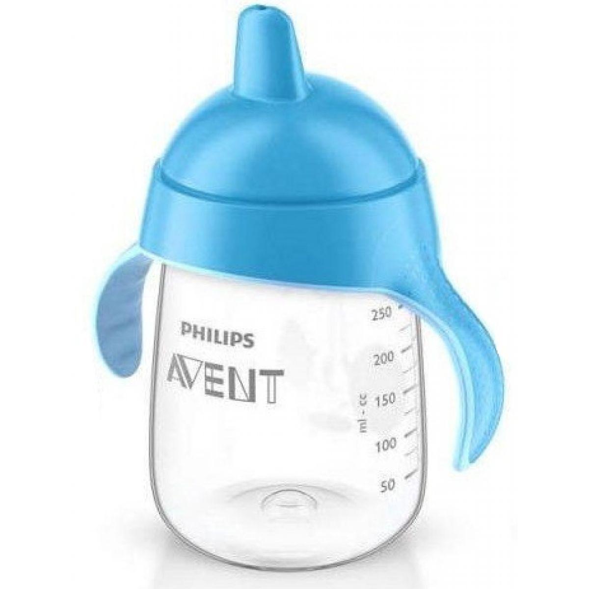 Philips Avent Hrneček pro první doušky Premium 340ml - Modrá