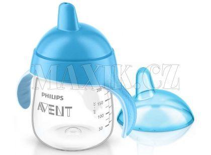 Philips Avent Hrneček pro první doušky Premium 260ml - Modrá