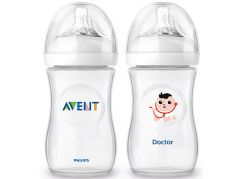Philips Avent Láhev Natural 260ml + 260ml doktor