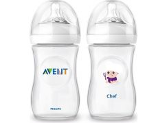 Philips Avent Láhev Natural 260ml + 260ml kuchař