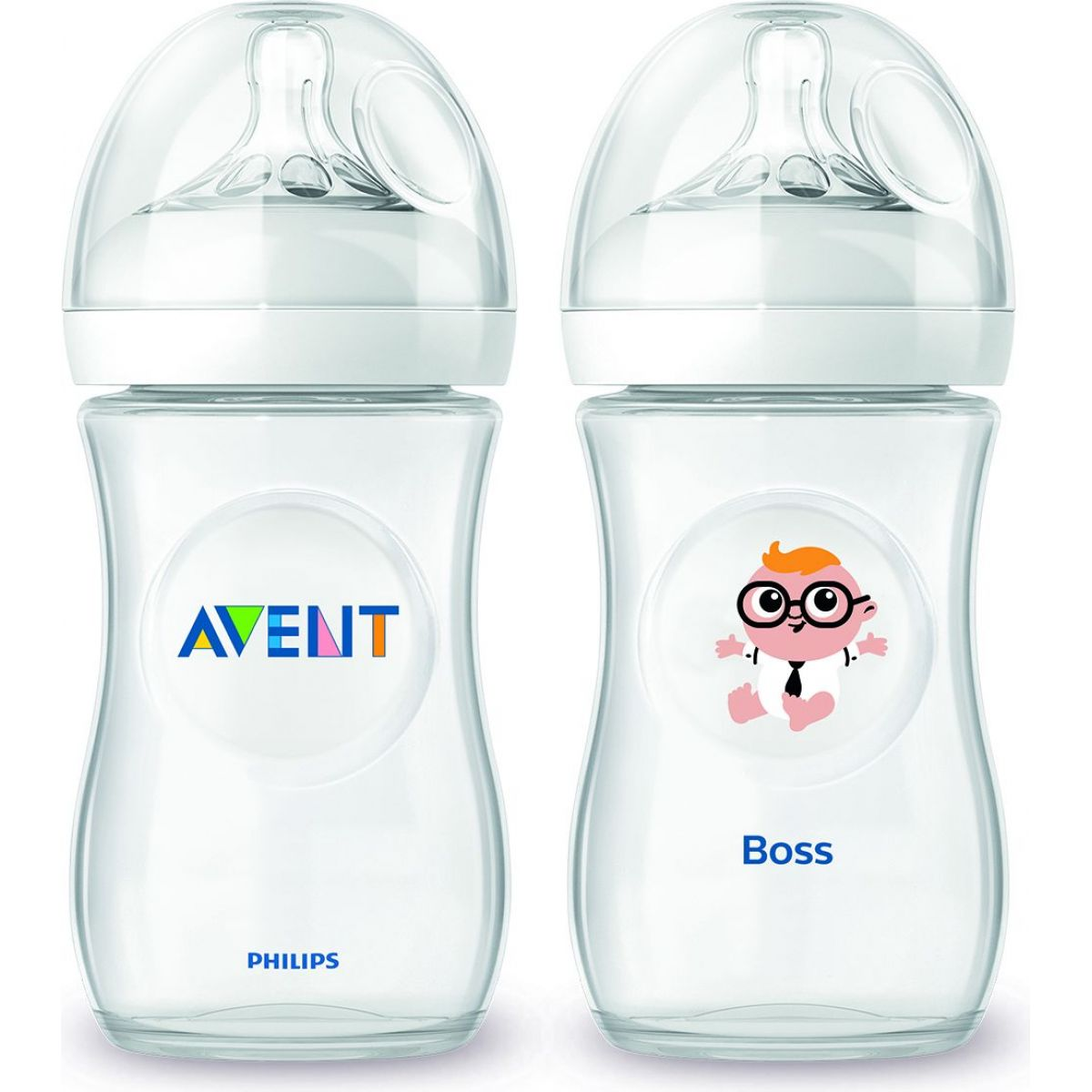 Philips Avent Láhev Natural 260ml + 260ml šéf