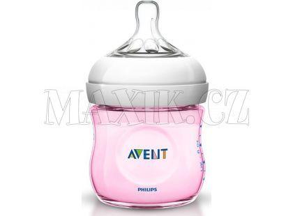 Philips Avent Láhev Natural 125ml růžová