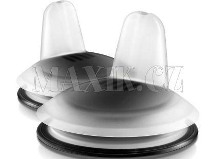 Philips Avent Náhradní hubičky pro první doušky Premium 2ks černá