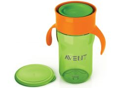 Philips Avent První skutečný hrneček 340ml - Zeleno-oranžová