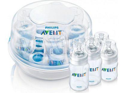 Philips Avent Sterilizátor do mikrovlnné trouby a láhve Classic