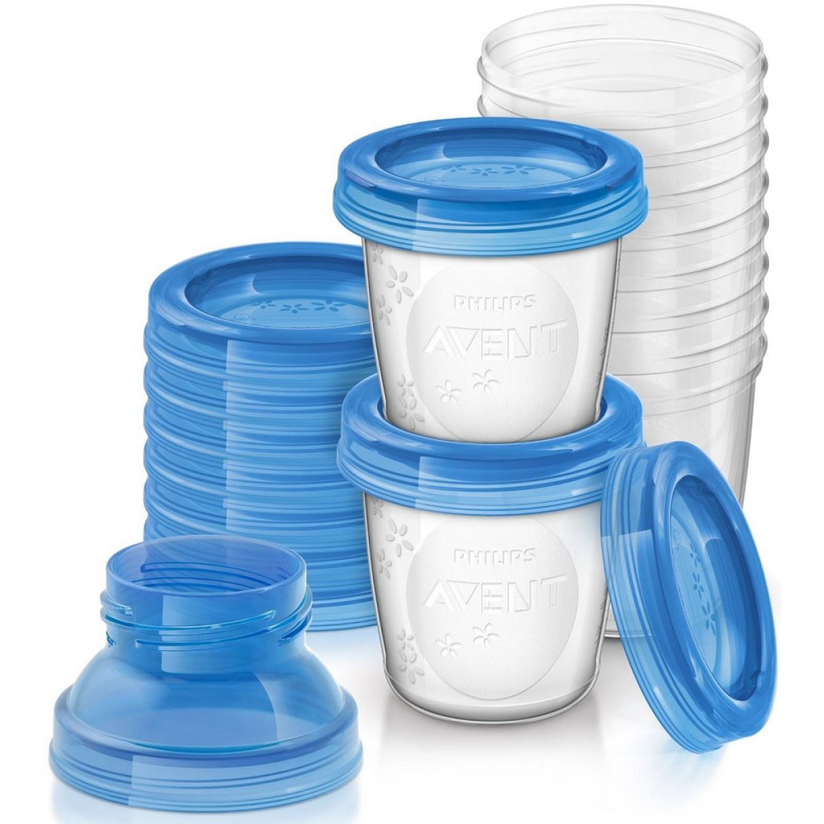 Philips Avent VIA pohárky 10 ks 180ml