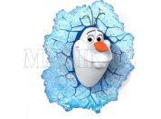 Philips Ledové Království 3D světlo na zeď Sněhulák Olaf