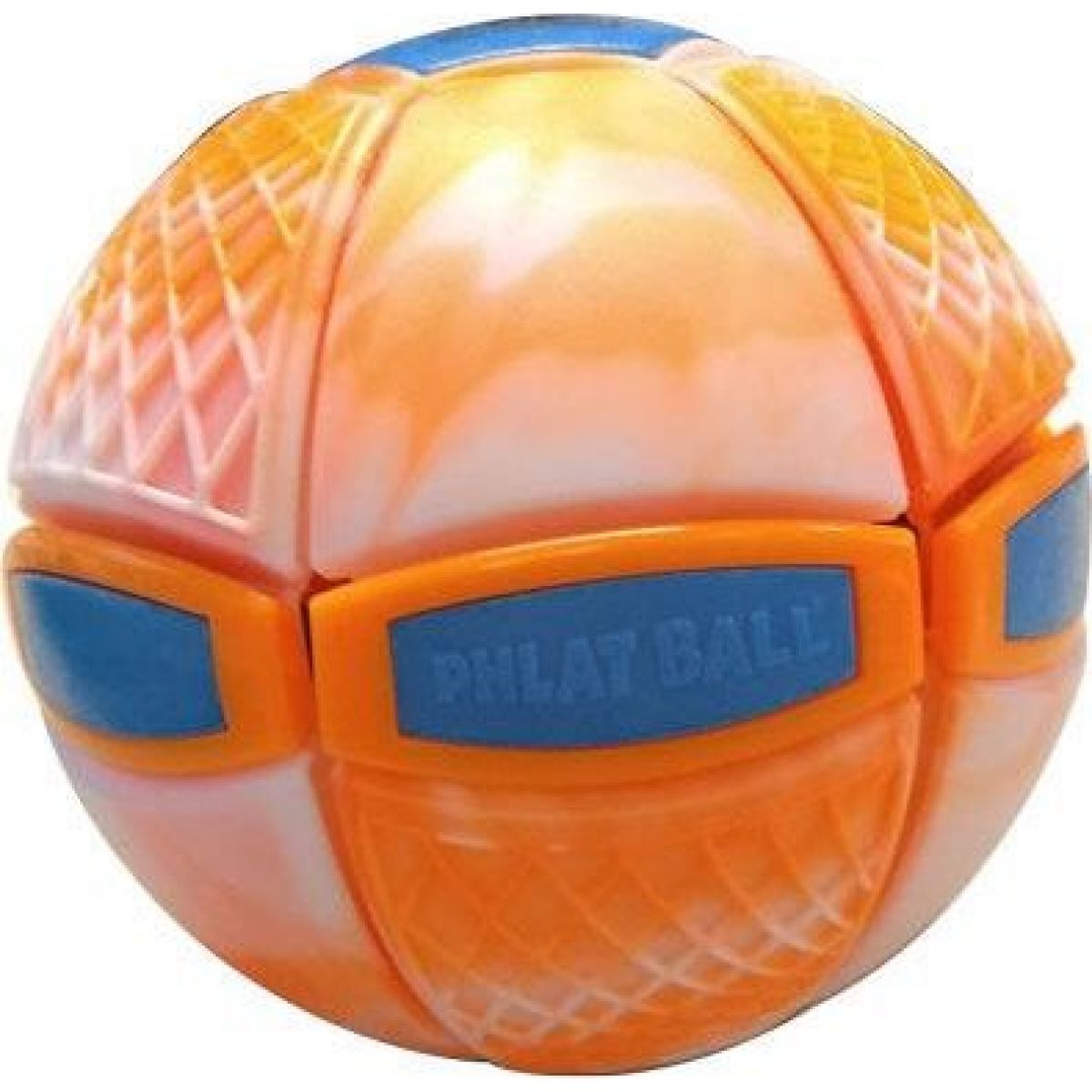 Phlat Ball junior Swirl oranžový