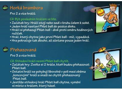 Phlat Ball UFO - Modro-zelená