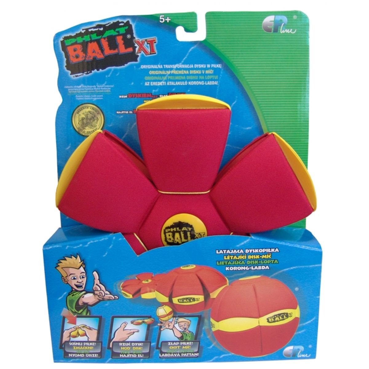 Phlat Ball XT Classic - Červená