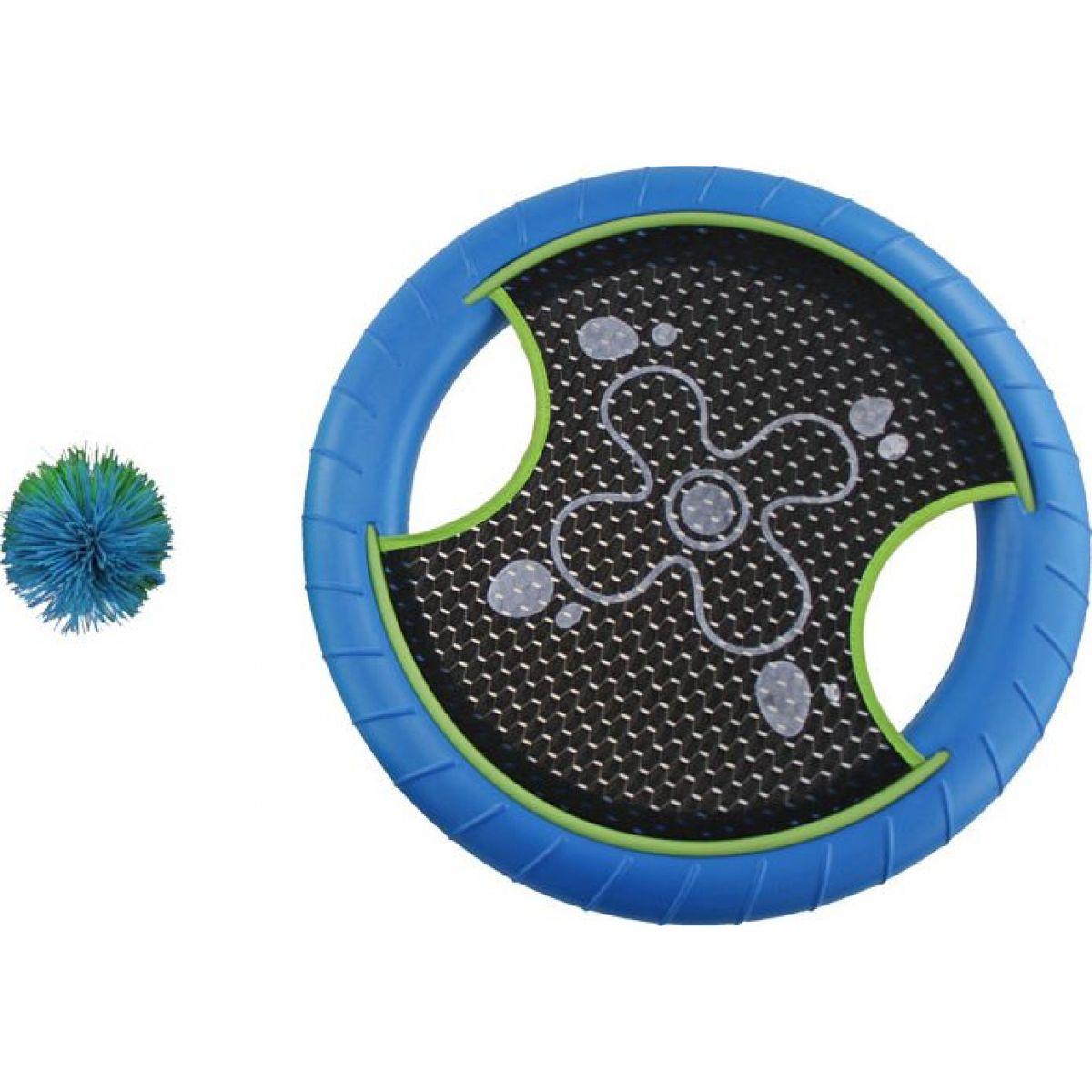 Phlat disc s míčkem modrý
