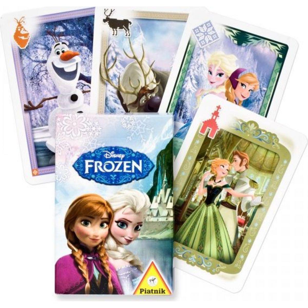 Piatnik Kvarteto Ledové království v papírové krabičce