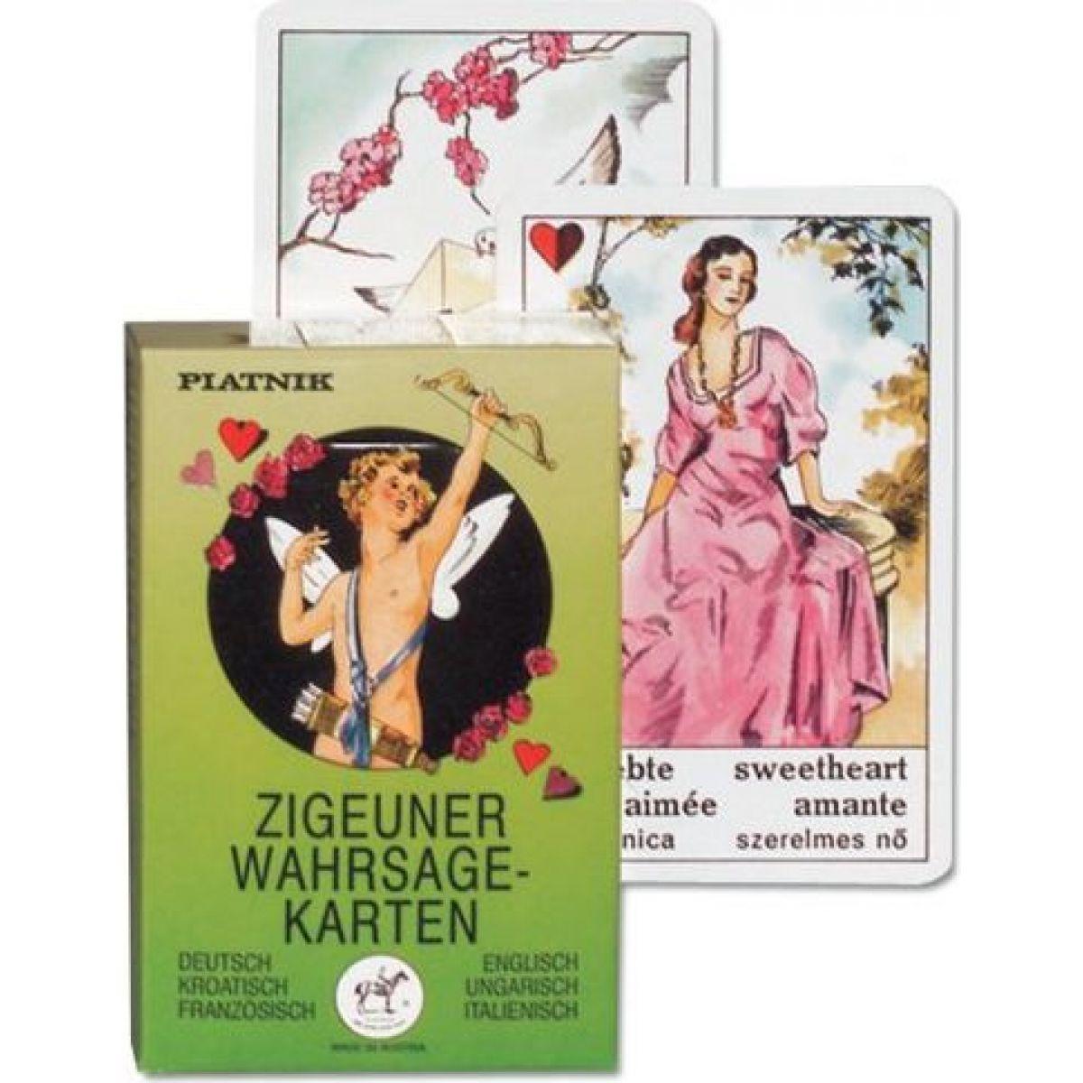 Piatnik Vykládací cikánské karty
