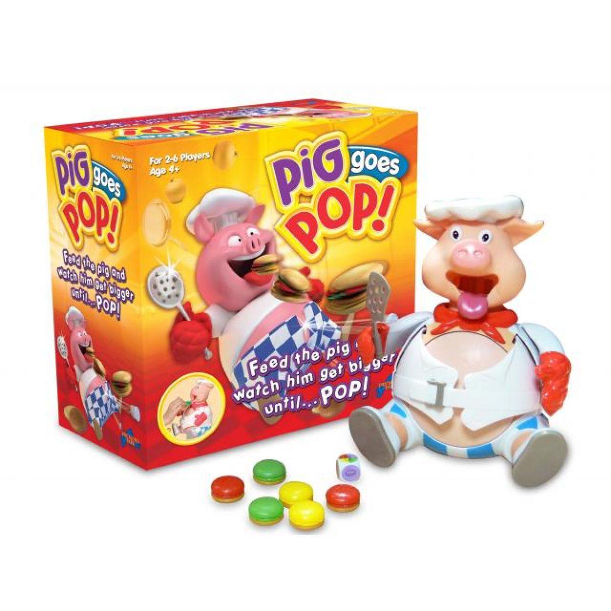 Piggy Pop společenská hra pro děti Hasbro