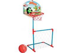 Pilsan Basket + fotbalová branka s míčem Panda s Dinem