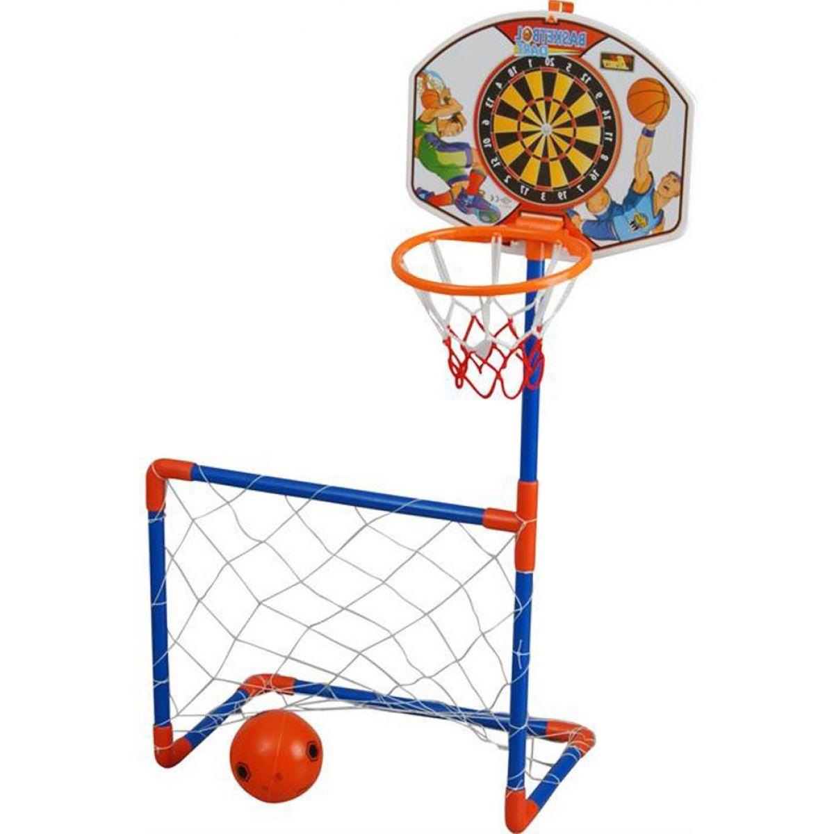 Pilsan Toys Basketbalová deska s fotbalovou brankou