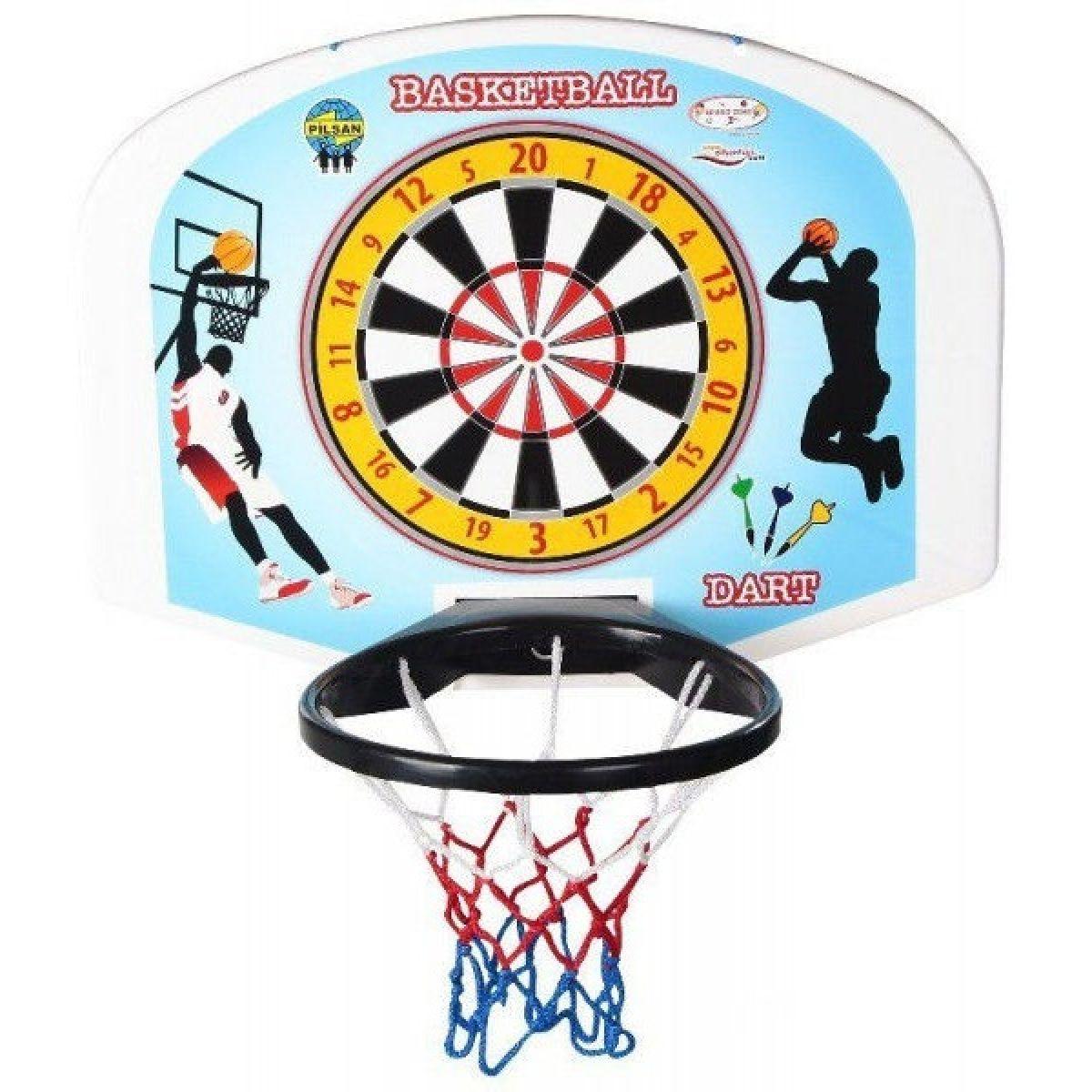Pilsan Toys Basketbalová deska - Modrá
