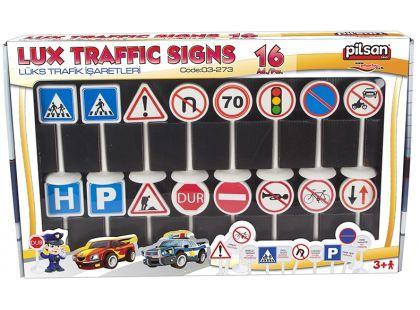 Pilsan Toys Dopravní značky 13cm