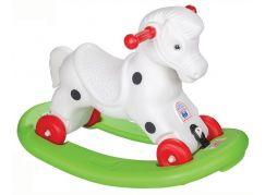 Pilsan Toys houpací koník bílé sedlo