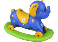 Pilsan Toys houpací Slon se zvukem modrý