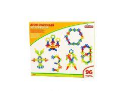 Pilsan Toys stavebnice Atomové částice 96 ks