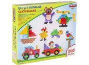 Pilsan Toys stavebnice Click Blocks - 200 ks