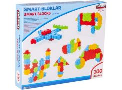 Pilsan Toys stavebnice Smart Blocks - 100 ks