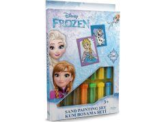 Pískování obrázků 2 v 1 Ledové království Olaf a Elsa
