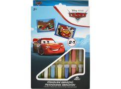 Pískování obrázků 2v1 Cars