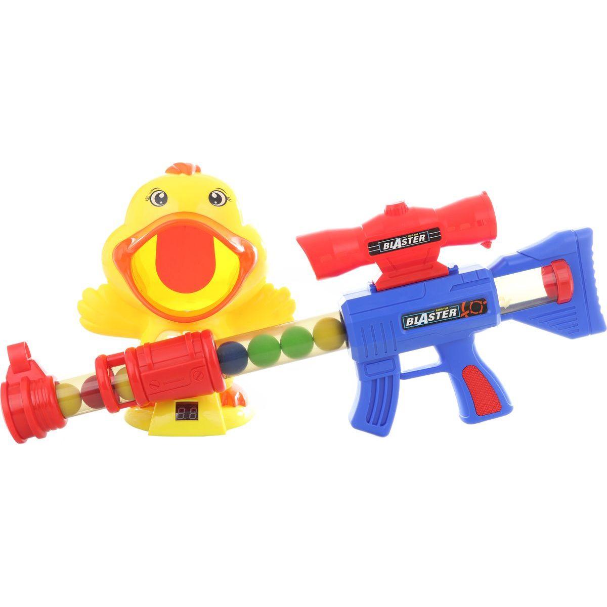 Pistole na míčky velká sada