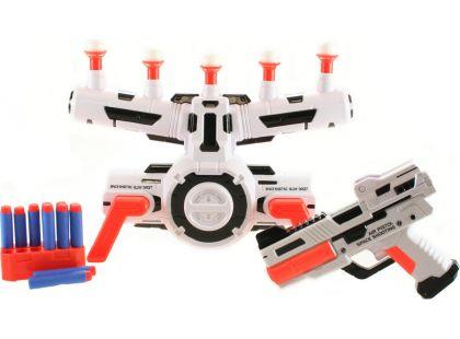 Pistole s pohybujícím terčem