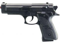 Pistolka na kartě s náhradními kuličkami 18cm