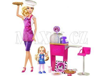 Pizza Šéfkuchařka ICB Barbie T2694