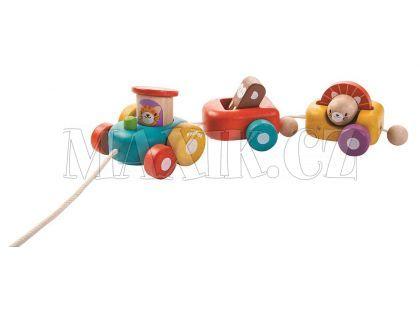 Plan Toys  Šťastná lokomotiva