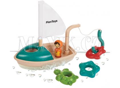 Plan Toys Aktivity s loďkou