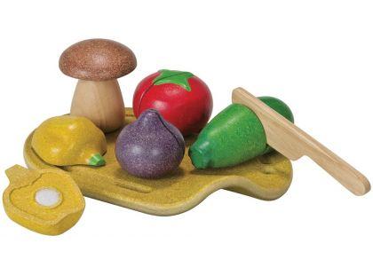 Plan Toys Eko Krájení zeleniny na prkénku