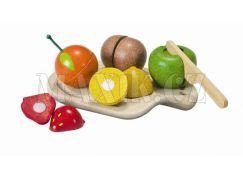 Plan Toys Eko Krájení ovoce na prkénku