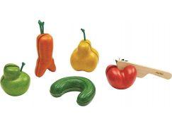 Plan Toys Krájení Křivé ovoce a zelenina