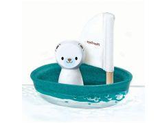 Plan Toys Plachetnice s ledním medvědem